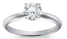 Blue Nile Classic Four Prong Engagement Ring