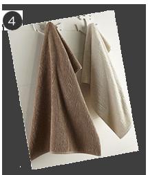 Natori Faux Bois Towels