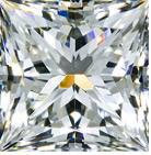 Whiteflash Super Ideal Princess Cut Diamond