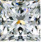 Whiteflash Super Ideal Princess Cut Diamond