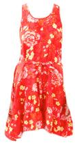 Short Judy Dress in Poppy Floral