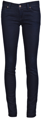Graphic Denim Shya Skinny Leg Jeans