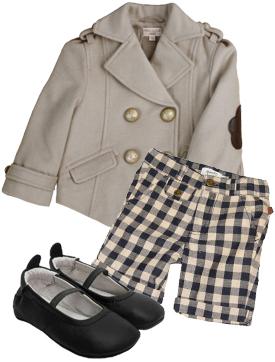 Mille Cashmere Jacket, Jodie Short, Luxury Baby Ballet Flat Black.