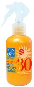 Kiss My Face Sun Spray Lotion SPF 30