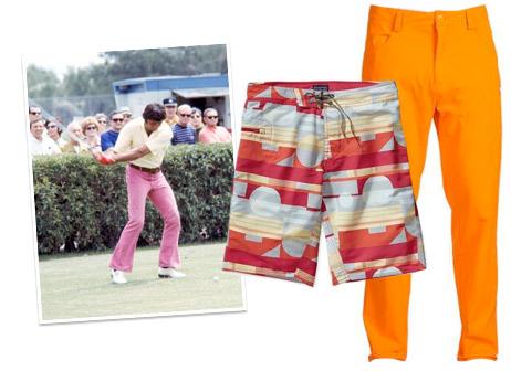 A collection of Joe Namath style bold bottoms