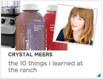 Crystal Meers - the 10 things I learned at the Ranch
