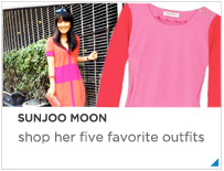 Sunjoo Moon's Five Favorite Outfits