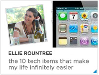 Ellie Rountree - The 10 tech items that make my life infinitely easier