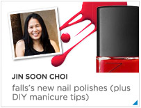 Jin Soon Choi - Fall's new nail polishes plus DIY manicure tips