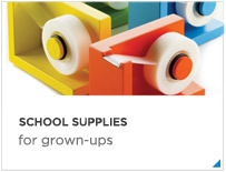 School supplies for grownups