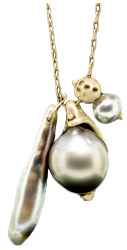Ten Thousand Things Tahitian Pearl Pendant