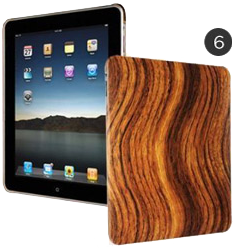 Wood Grain iPad Case