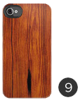 iPhone 4S/4 Wood Grain Deflector