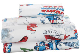 Pottery Barn Kids Captain America Sheeting