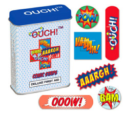 Ouch Comic Strip Band-Aids