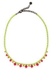 Tom Binns Swarovski Crystal Necklace