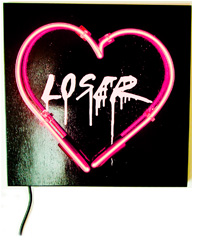 What You Steal Neon Heart