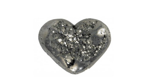 Jayson Home Pyrite Heart
