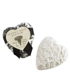 Gianna Rose Black and White Toile Soap