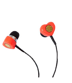 Marc by Marc Jacobs Heart Earbud
