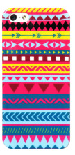 Audiology Aztec Blue iPhone 5 Case