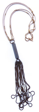 Deer Vintage Tassel + Chain Necklace