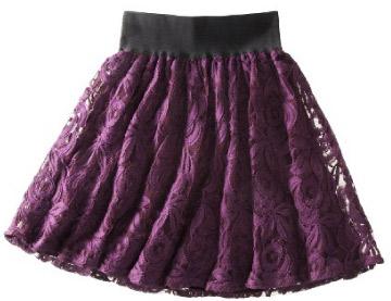Target Xhilaration Lace Skirt