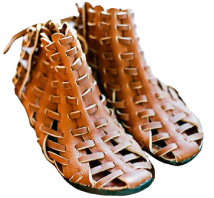 Beatrice Valenzuela Tejidos Sandals