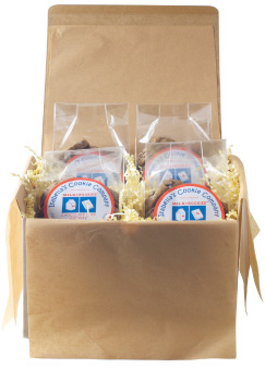 Milk + Bookies Gift Box from Isabella's Cookies