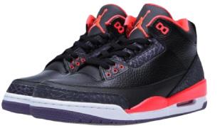 Black High-Top Air Jordans