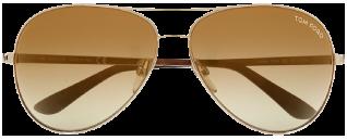 Tom Ford Charles Aviator Sunglasses