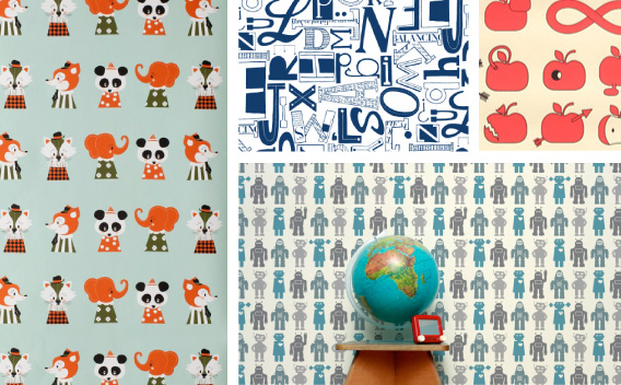 Hang Time:The Best in Kids' Wallpaper Design