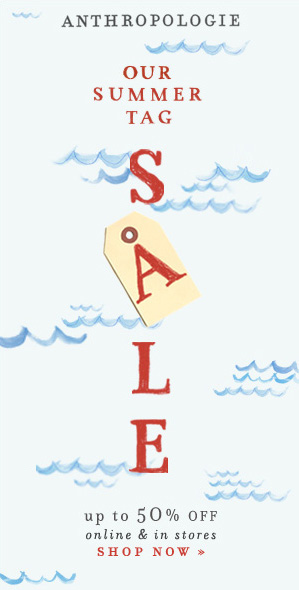 Check out the Anthropologie Summer Tag Sale!