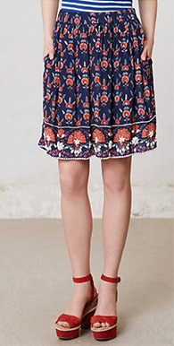 Adela Beaded Skirt