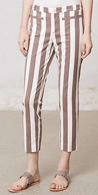 Ruled Charlie Trousers
