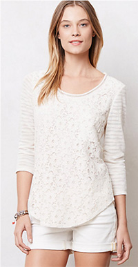 Laceveiled Pullover