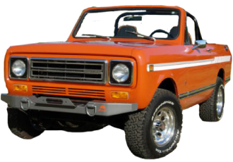 An International Harvester Scout