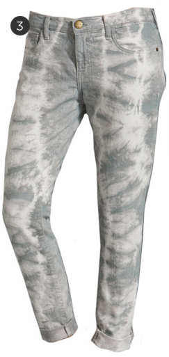 Current/Elliott Roller Jeans in Grey Cloud
