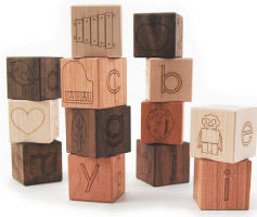 Alphabet Picture Blocks