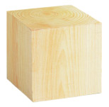 Hinoki Memo Cube