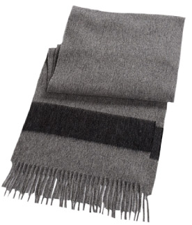 Hudson's Bay Company Striped Wool Scarf