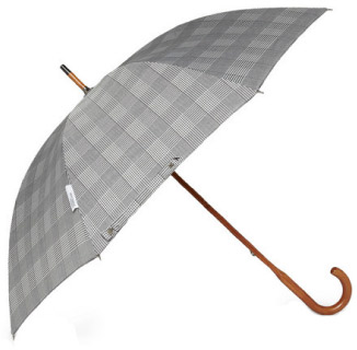 Classic Prince of Wales Check Umbrella