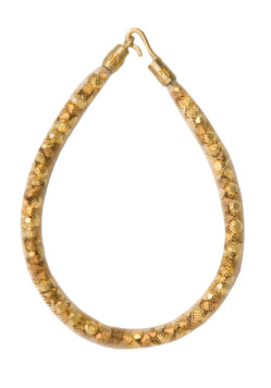 Peppercotton simple gold necklace