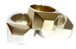 James Colarusso large facet ring