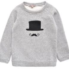 Emile Et Ada Moustache Sweatshirt
