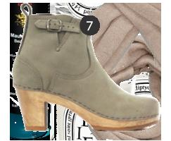No 6 Clog Boots