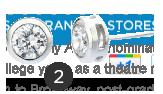 Crislu Radiant Bezel-Cut Stud Earrings