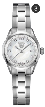 Tag Heuer Carrera Diamond Dial Watch