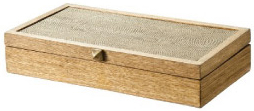 Nate Berkus Collection Oak Wash Box