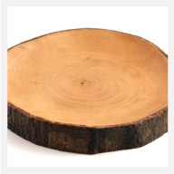 Mango Wood Platter with Bark